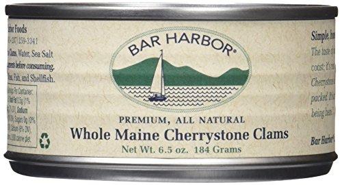Bar Harbor Clams, Maine Cherrystone, 6.5 Ounce