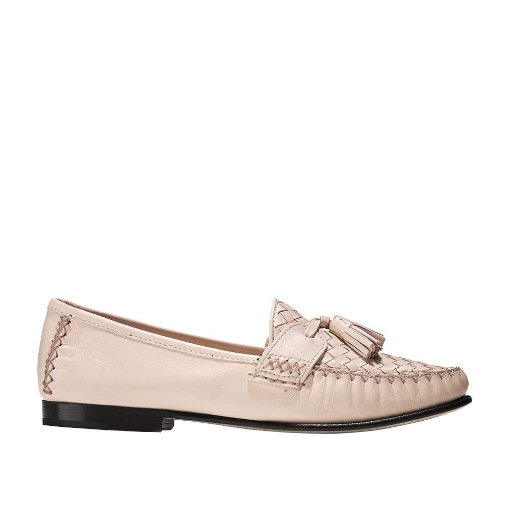Cole Haan Womens Jagger Soft Weave Loafer 8 Peach Blush