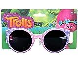 Dreamworks Trolls Poppy Love Fun Time Sunglasses - 100% UVA & UVB Protection (Purple Bubble Fun)