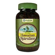Nutrex Hawaiian Spirulina Pacifica 500 mgs., 400-Tablet Bottle