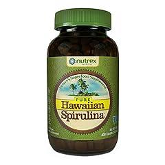 Hawaiian Spirulina is a blue-green microalgae, Arthrospira platenesis, which is grown naturally under the intense Hawaiian sun on the Big Island of Hawaii. It naturally contains protein, iron, beta carotene, minerals, vitamin B12, zeaxanthin, chlorop...