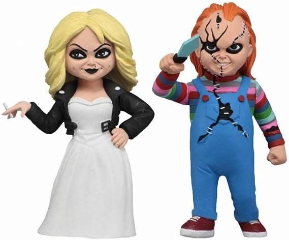 Novia De Chucky Toony Terrors Chucky & Tiffany: Amazon.es ...