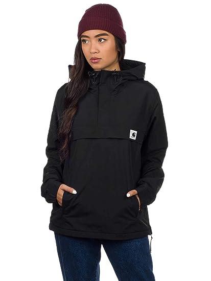 Carhartt W Nimbus Pullover Black Giacca Streetwear Donna AI18