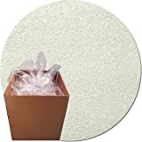 Glitter My World! Craft Glitter: 25lb Box: Dazzling White