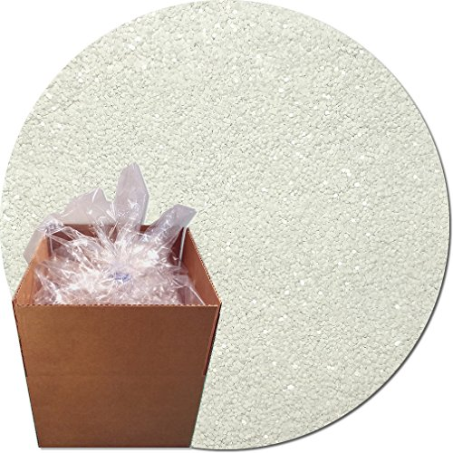 Glitter My World! Craft Glitter: 25lb Box: Dazzling White by Glitter My World!