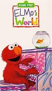 Elmos World Dancing Music Books [VHS] Sesame Street Movies ...