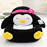 Ubeauty Totoro Doraemon Kitty Sofa for Kids (Black Chicken)
