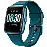 UMIDIGI Uwatch3 with full touch color screen: 1. 3-Inch full touch IPS color screen, easy control with the sensitive touch screen, it's not just a fitness tracke