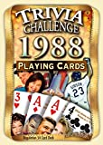 Best Playing Cards In The Worlds - 1988 Trivia Playing Cards: 29th Birthday or Anniversary Review
