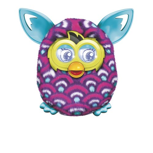 Furby Boom Purple Waves Plush Toy