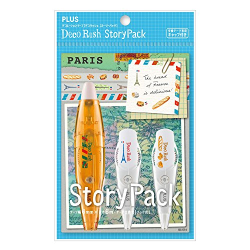 Plus Decoration Tape Deco Rush Story-Pari