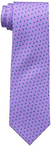 Butterfly Silk Tie - Tommy Hilfiger Men's Butterfly Print Tie, Purple, One Size