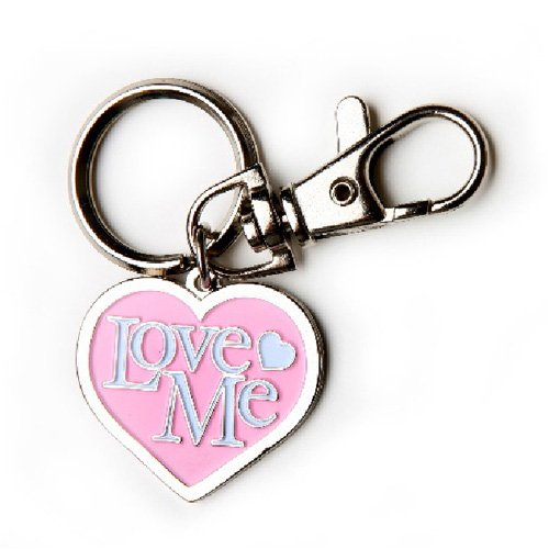 Lola & Foxy Charm with Quick Release Hook Love Me in Light Pink