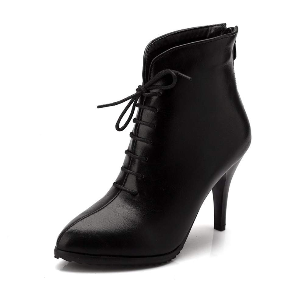Bottes Femme | Bottines | Bottines Bottes 11328 Bottes rétro Black 6f47b65 - therethere.space