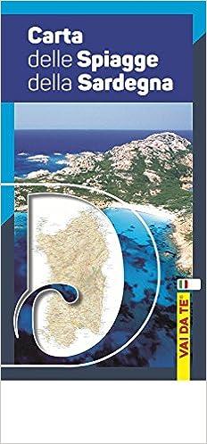 Vai da te. Carte tematiche Carta delle spiagge della Sardegna Con custodia