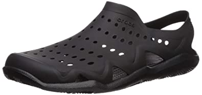 c466ebb88476 Crocs Men s Swiftwater Wave M Water Shoe Black