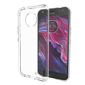 GroB Motorola Moto X4 Hülle, Profer TPU [Crystal Clear] Transparent Ultradünn  Schutzhülle Flexibel Silikon