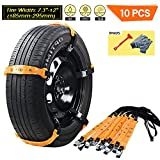 Best mud tire for the money - VeMee Snow Chains for Car Snow Tire Chains Review
