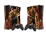 Pacers Fallout: New Vegas Protective Skin Decal Sticker for Xbox 360 Slim (1 piece for the game console & 2 pieces for 2 controllers)