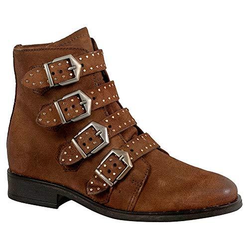 (Miz Mooz Edgy Women's Ankle Boot Camel)