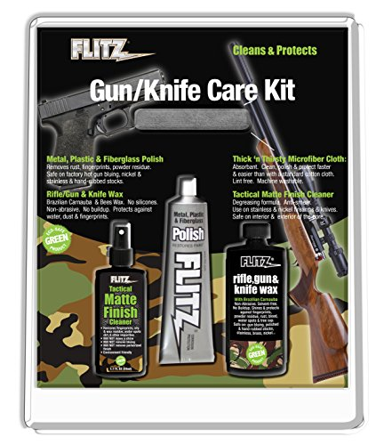 - Flitz KG 41501 Mixed Knife and Gun Care Kit