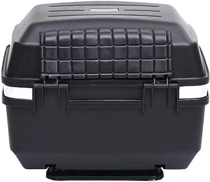 Tidyard Motorradkoffer Wasserdicht Top Case Motorrad Roller Rollerkoffer Helmkoffer Topcase 24 L Für 1 Helm Küche Haushalt