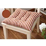 Tenworld Indoor Home Kitchen Office Seat Pads Chair Cushion 4040cm (Coffee)