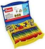 : Goobi 202 Piece Master Magnet Construction Set Rainbow