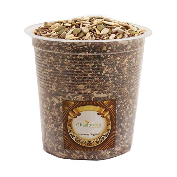 Ghasitaram Gifts Dryfruits - Seeds Mix- Ghasitaram's Special 7 in One Healthy Seeds Mixture 400 GMS