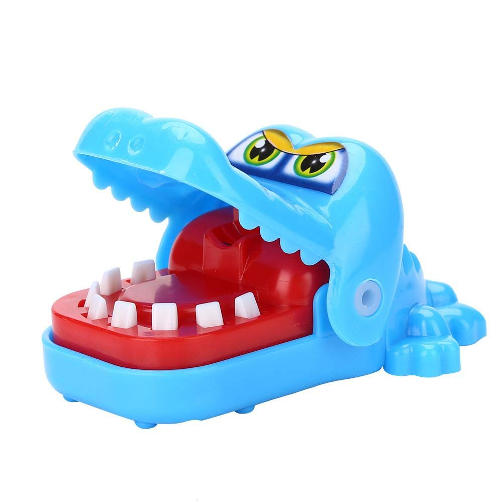 Fdit giocattolo coccodrillo dentista Mordente giocattolo Mordente di dito Mignon doigts-jeu d' azione di réflexe-jeu di società verde