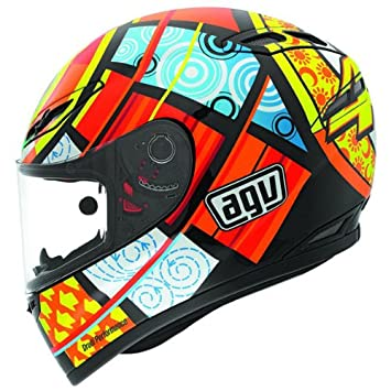 AGV gp-tech Rossi elementos casco