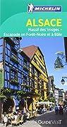 Guide Vert Alsace Vosges Michelin par Michelin