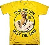 Men's WWE Beat The Man Ric Flair Shirt Yellow 4XL