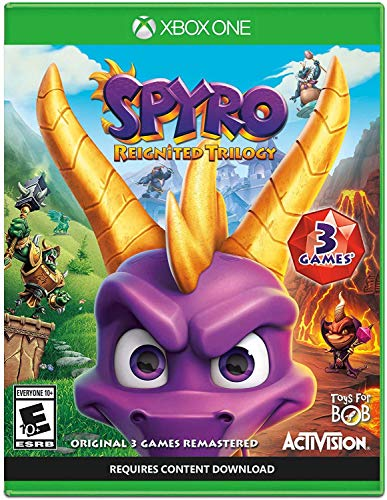 Spyro Reignited Trilogy - Xbox One (Best Boxing Game Xbox 360)