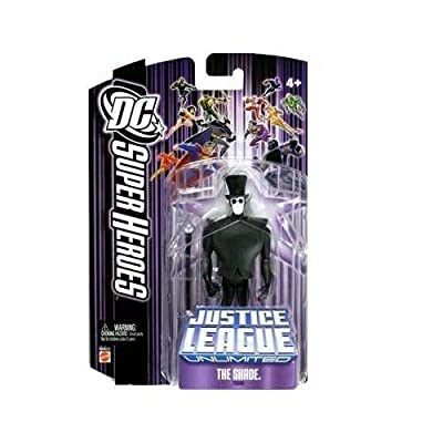 DC Super Heroes: Justice League Unlimited > The Shade Action Figure: Toys & Games