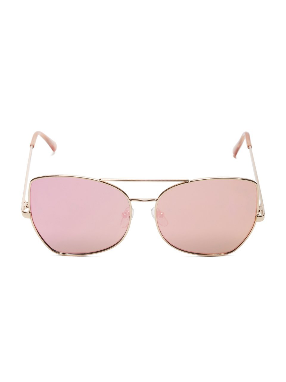G by GUESS Women's Mirrored Top Bar Sunglasses by G by GUESS (Image #4)