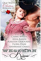 Western Kisses: Old West Christmas Romances Paperback