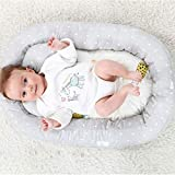 Nrpfell Portable Baby Nest Bed Removable Travel
