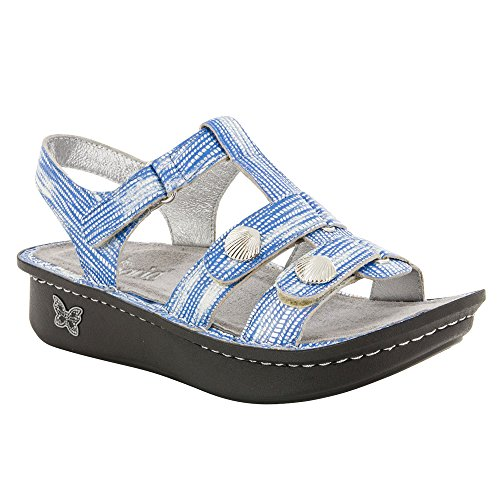 (Alegria Women's Kleo Sandal Wrapture Blue 38)