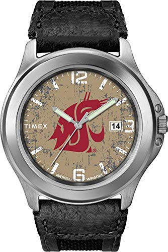 Timex Men's Washington State University Watch Old School Vintage Watch