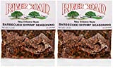 River Road New Orleans Style Barbecued BBQ Shrimp Seasoning, 1.5 Ounce Bag (Pack of 2)
