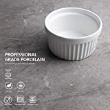 Sweese Porcelain Souffle Dishes, Ramekins for