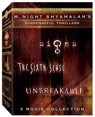 M. Night Shyamalan Vista Series Collection (The Sixth Sense/Signs/Unbreakable) by Buena Vista Home Video