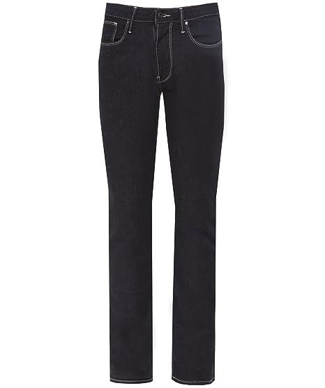 6e8969e180cf Armani Jeans J06 Dark Wash Slim Fit Denim Jeans-30 WAIST 32 Leg   Amazon.co.uk  Clothing