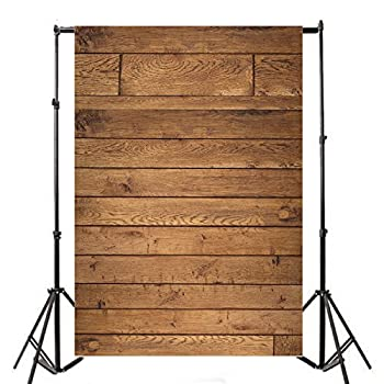 Leyiyi 5x7FT Redneck Vintage Brown Wood Board Wall Photography Backdrops Vinyl Retro Hardwood Plank Grain Photo Backgrounds For Studio Props