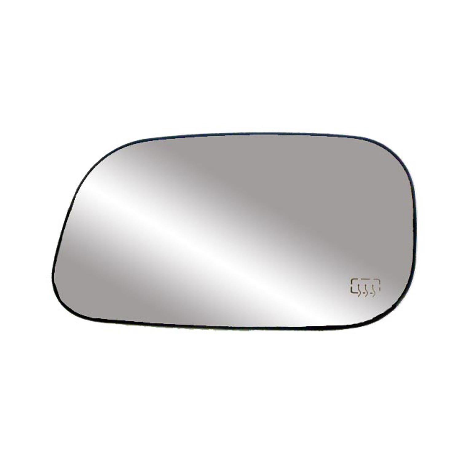 Fit System 33252 Driver Side Heated Replacement Mirror Glass with Backing Plate