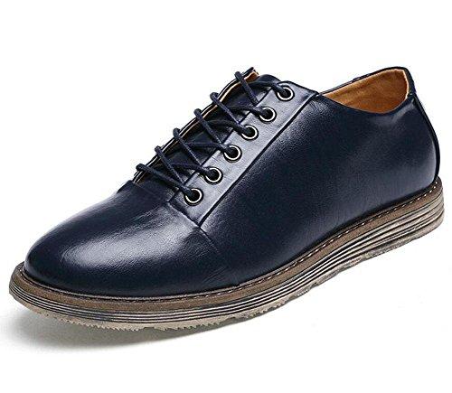 SHIXR Les chaussures de sport pour hommes portent la bouche superficielle avec des chaussures d'escalade , blue , 40