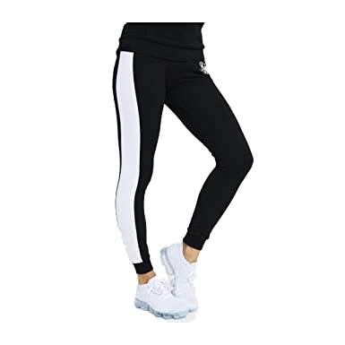 Sik Silk Pantalones Fitted Jogger Negro 12 M (Medium): Amazon.es ...