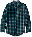 Jacksonville Jaguars 2016 Wordmark Basic Flannel Shirt - Womens Large