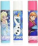 Lip Smacker 80162 Disney frozen lip balm trio, 0.42 Ounce